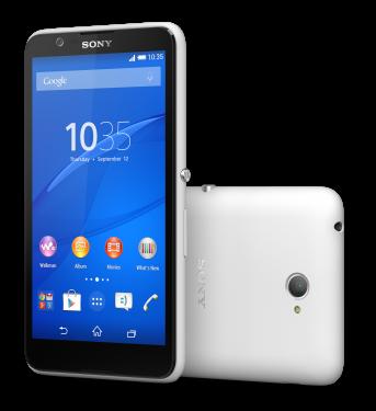 Смартфон Xperia E4 Dual, белый