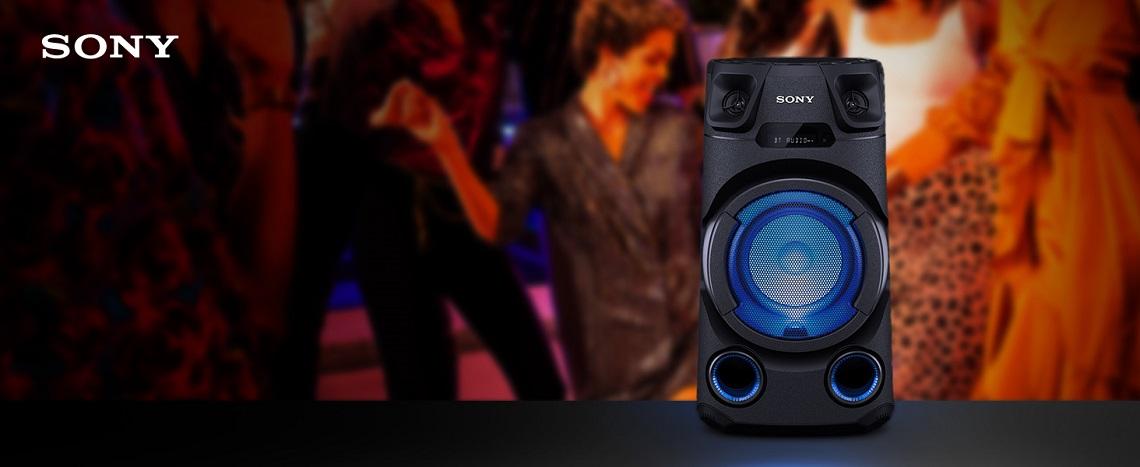 Sony MHC-V13 – огромная мощность для максимального удовольствия